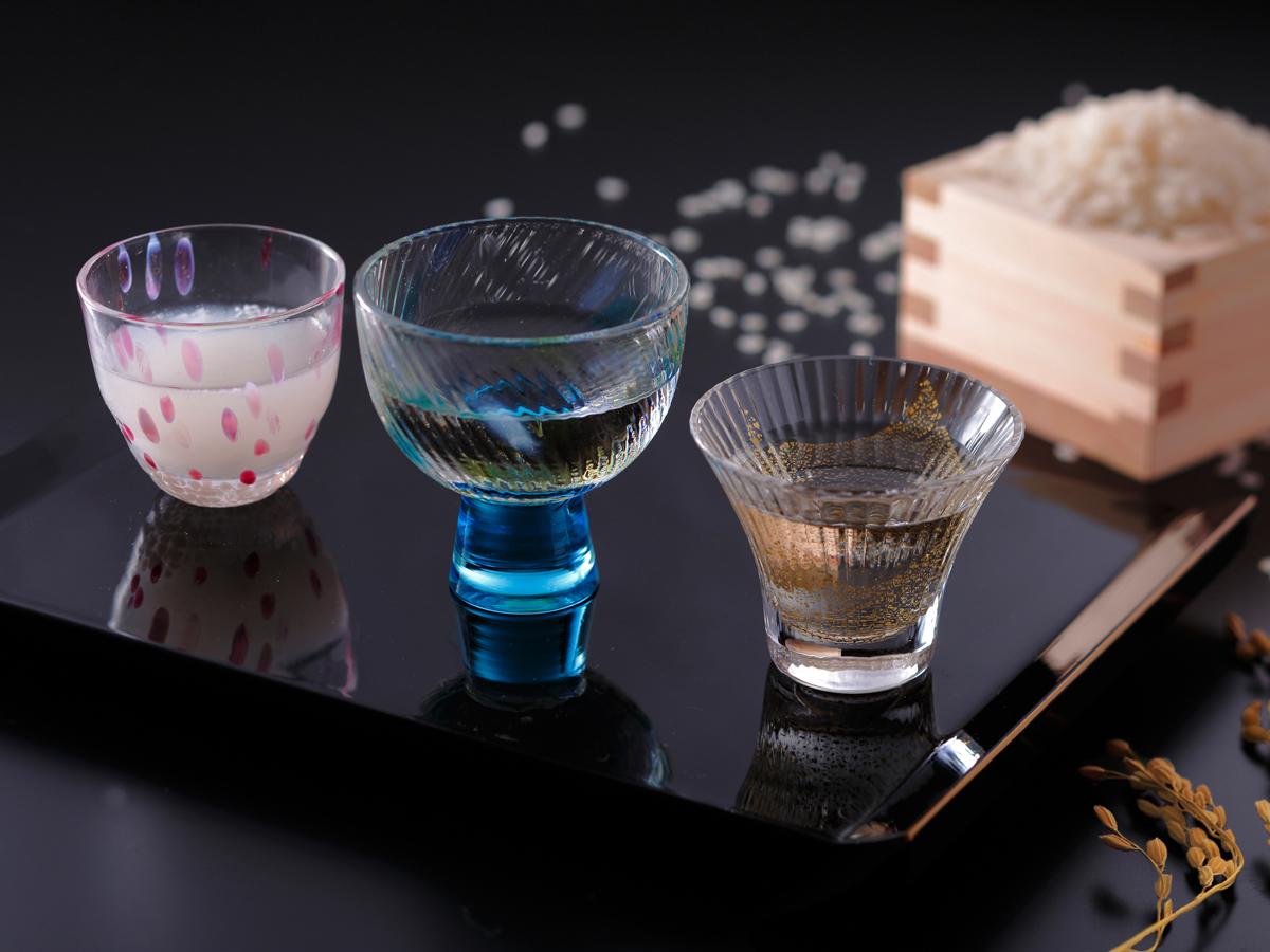 京都の地酒三種・日本酒飲み比べ付(イメージ)