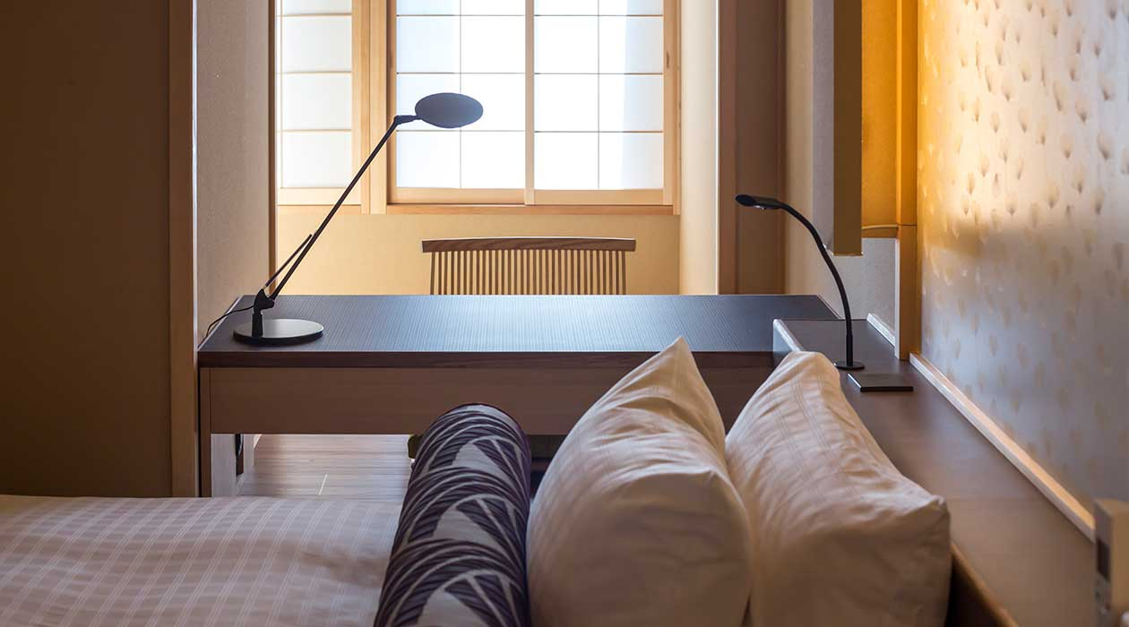 Superiore Twin (tatami mat living area)