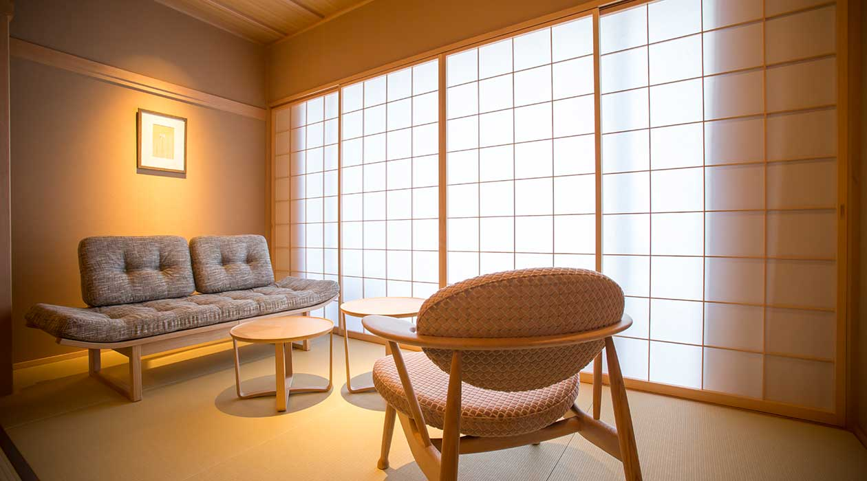 Japanese-style room (53m sq. with terrace)