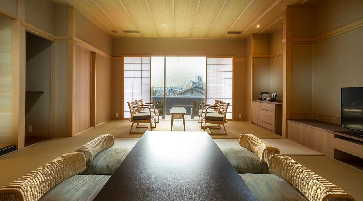 Japanese-style room (64m sq. with terrace)